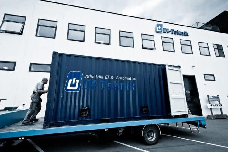 Mobil transformerforsyning på Statens Serum Institut